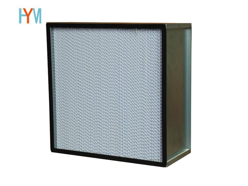 镀锌框有隔板高效过滤器